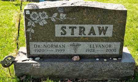 STRAW, ELVANOR - Richland County, Ohio | ELVANOR STRAW - Ohio Gravestone Photos
