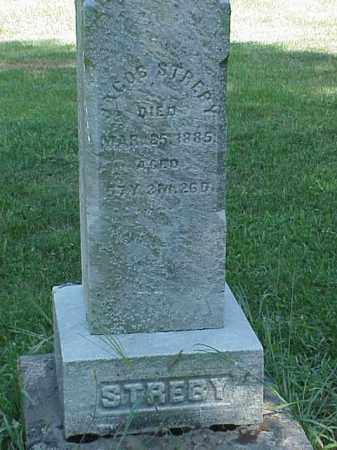 STREBY, JACOB - Richland County, Ohio | JACOB STREBY - Ohio Gravestone Photos
