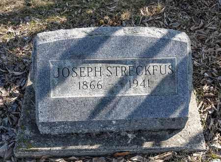 STRECKFUS, JOSEPH - Richland County, Ohio   JOSEPH STRECKFUS - Ohio Gravestone Photos