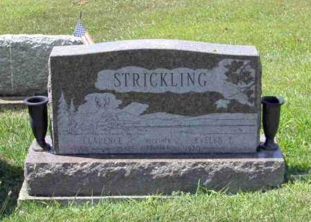 STRICKLING, CLARENCE - Richland County, Ohio | CLARENCE STRICKLING - Ohio Gravestone Photos