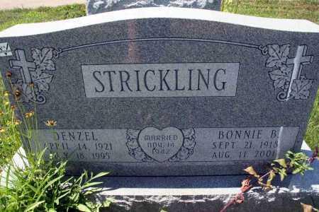 STRICKLING, BONNIE B - Richland County, Ohio | BONNIE B STRICKLING - Ohio Gravestone Photos
