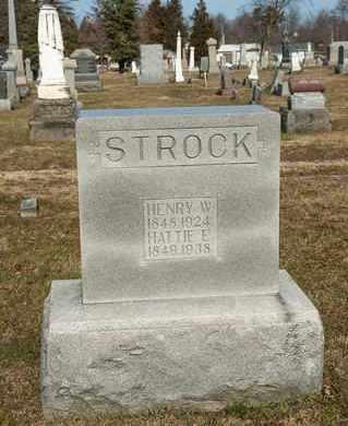 STROCK, HATTIE E - Richland County, Ohio | HATTIE E STROCK - Ohio Gravestone Photos