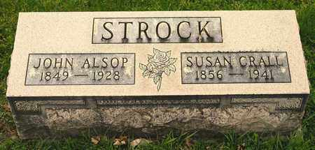 STROCK, JOHN ALSOP - Richland County, Ohio | JOHN ALSOP STROCK - Ohio Gravestone Photos
