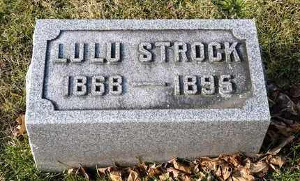STROCK, LULU - Richland County, Ohio   LULU STROCK - Ohio Gravestone Photos