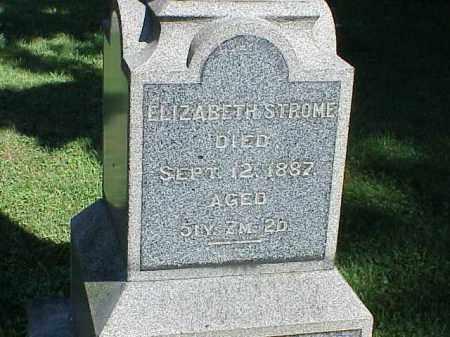 STROME, ELIZABETH - Richland County, Ohio | ELIZABETH STROME - Ohio Gravestone Photos