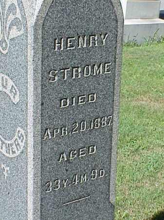 STROME, HENRY - Richland County, Ohio | HENRY STROME - Ohio Gravestone Photos
