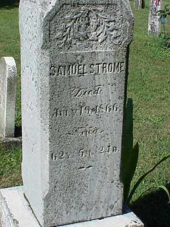STROME, SAMUEL - Richland County, Ohio | SAMUEL STROME - Ohio Gravestone Photos
