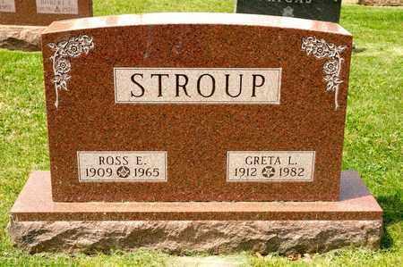 STROUP, ROSS E - Richland County, Ohio | ROSS E STROUP - Ohio Gravestone Photos