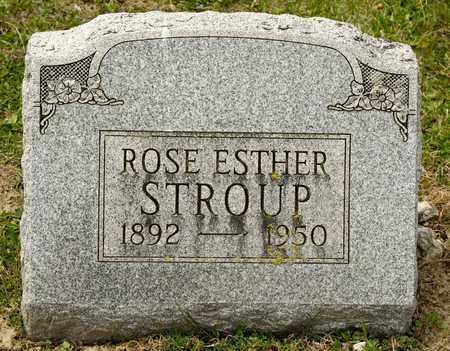 STROUP, ROSE ESTHER - Richland County, Ohio | ROSE ESTHER STROUP - Ohio Gravestone Photos