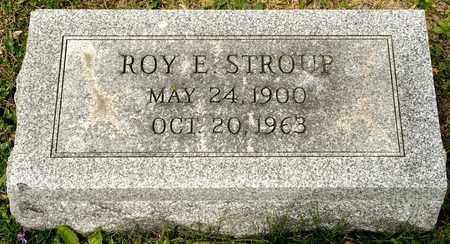 STROUP, ROY E - Richland County, Ohio | ROY E STROUP - Ohio Gravestone Photos