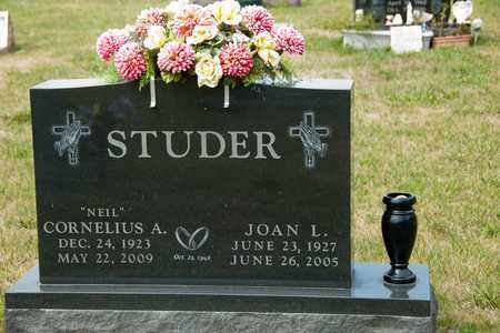 STUDER, JOAN L - Richland County, Ohio | JOAN L STUDER - Ohio Gravestone Photos