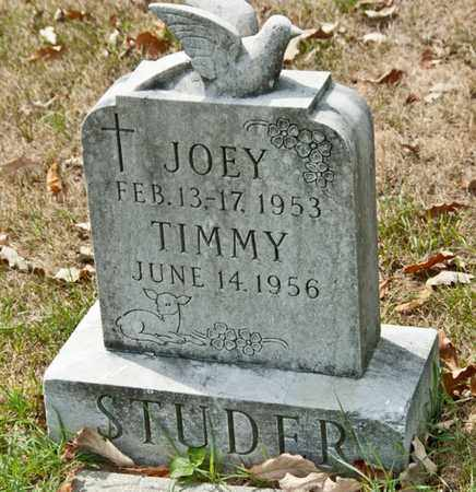 STUDER, JOEY - Richland County, Ohio | JOEY STUDER - Ohio Gravestone Photos