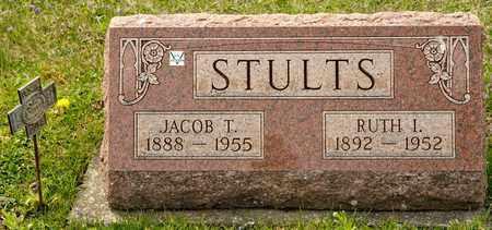 STULTS, JACOB T - Richland County, Ohio | JACOB T STULTS - Ohio Gravestone Photos