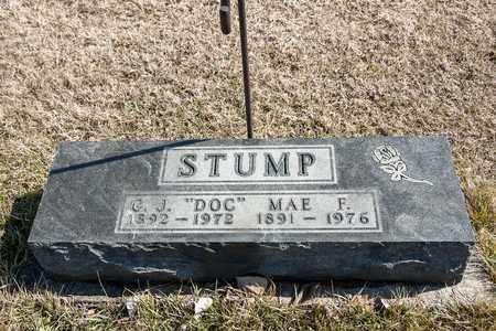STUMP, C J - Richland County, Ohio   C J STUMP - Ohio Gravestone Photos