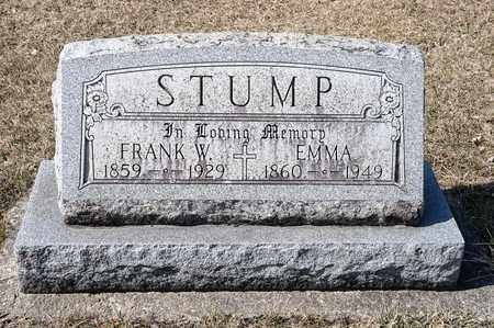 STUMP, FRANK W - Richland County, Ohio | FRANK W STUMP - Ohio Gravestone Photos
