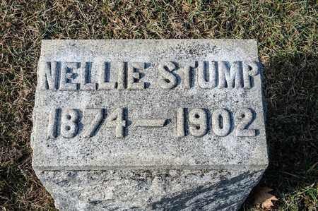 STUMP, NELLIE - Richland County, Ohio | NELLIE STUMP - Ohio Gravestone Photos