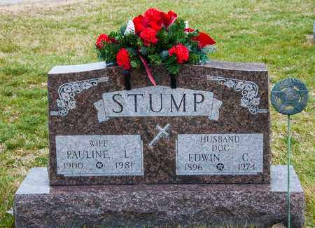STUMP, EDWIN C - Richland County, Ohio   EDWIN C STUMP - Ohio Gravestone Photos
