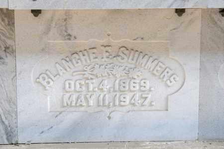 SUMMERS, BLANCHE E - Richland County, Ohio | BLANCHE E SUMMERS - Ohio Gravestone Photos