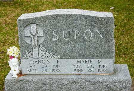 SUPON, MARIE M - Richland County, Ohio   MARIE M SUPON - Ohio Gravestone Photos