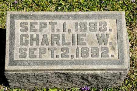 SUTCH, CHARLIE W - Richland County, Ohio | CHARLIE W SUTCH - Ohio Gravestone Photos
