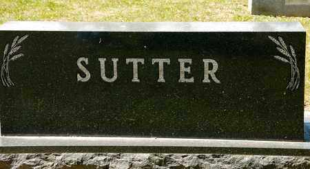 SUTTER, HARRY F - Richland County, Ohio | HARRY F SUTTER - Ohio Gravestone Photos