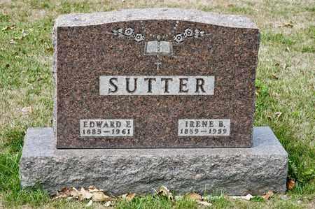 SUTTER, EDWARD E - Richland County, Ohio   EDWARD E SUTTER - Ohio Gravestone Photos
