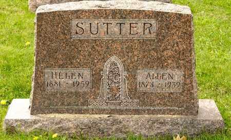 SUTTER, HELEN - Richland County, Ohio   HELEN SUTTER - Ohio Gravestone Photos