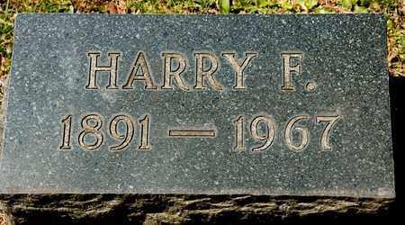 SUTTER, HARRY F - Richland County, Ohio | HARRY F SUTTER - Ohio Gravestone Photos