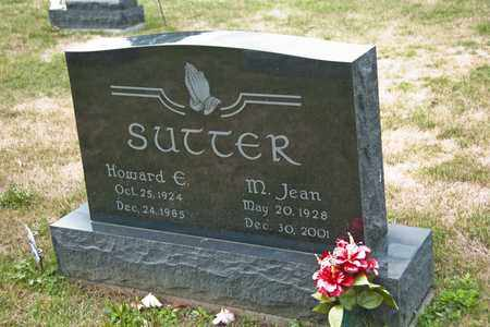 SUTTER, HOWARD E - Richland County, Ohio | HOWARD E SUTTER - Ohio Gravestone Photos