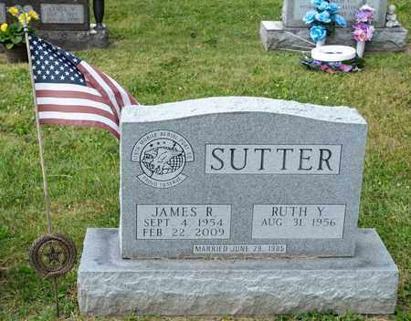SUTTER, JAMES R - Richland County, Ohio | JAMES R SUTTER - Ohio Gravestone Photos