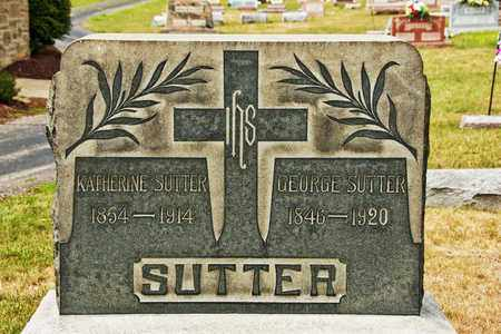 SUTTER, GEORGE - Richland County, Ohio | GEORGE SUTTER - Ohio Gravestone Photos