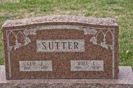 SUTTER, LEO J - Richland County, Ohio | LEO J SUTTER - Ohio Gravestone Photos