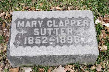 SUTTER, MARY - Richland County, Ohio | MARY SUTTER - Ohio Gravestone Photos