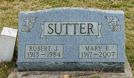 SUTTER, MARY E - Richland County, Ohio | MARY E SUTTER - Ohio Gravestone Photos