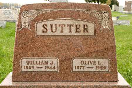 SUTTER, WILLIAM J - Richland County, Ohio | WILLIAM J SUTTER - Ohio Gravestone Photos