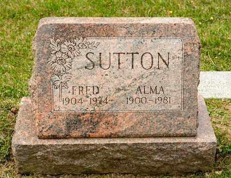 SUTTON, ALMA - Richland County, Ohio | ALMA SUTTON - Ohio Gravestone Photos