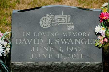 SWANGER, DAVID J - Richland County, Ohio | DAVID J SWANGER - Ohio Gravestone Photos