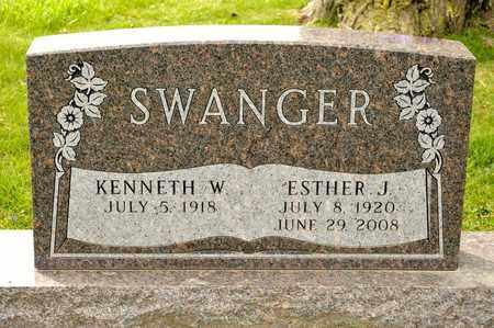 SWANGER, ESTHER J - Richland County, Ohio | ESTHER J SWANGER - Ohio Gravestone Photos