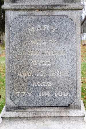 SWANGER, MARY - Richland County, Ohio   MARY SWANGER - Ohio Gravestone Photos