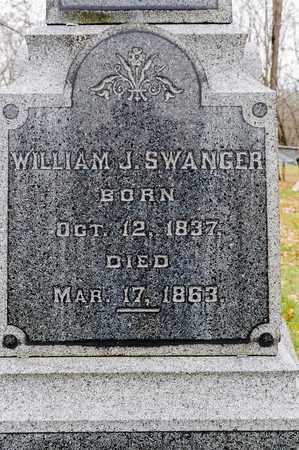 SWANGER, WILLIAM J - Richland County, Ohio | WILLIAM J SWANGER - Ohio Gravestone Photos