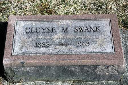 SWANK, CLOYSE M - Richland County, Ohio | CLOYSE M SWANK - Ohio Gravestone Photos