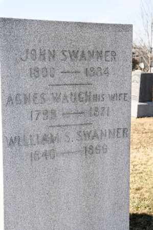 WAUGH SWANNER, AGNES - Richland County, Ohio | AGNES WAUGH SWANNER - Ohio Gravestone Photos