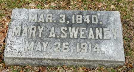 SWEANEY, MARY A - Richland County, Ohio   MARY A SWEANEY - Ohio Gravestone Photos