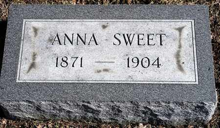 SWEET, ANNA - Richland County, Ohio | ANNA SWEET - Ohio Gravestone Photos