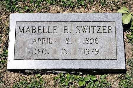 SWITZER, MABELLE E - Richland County, Ohio | MABELLE E SWITZER - Ohio Gravestone Photos