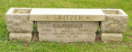 SWITZER, HILDA E - Richland County, Ohio   HILDA E SWITZER - Ohio Gravestone Photos