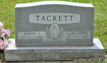 TACKETT, CLARA - Richland County, Ohio | CLARA TACKETT - Ohio Gravestone Photos