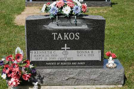 TAKOS, KENNETH C - Richland County, Ohio | KENNETH C TAKOS - Ohio Gravestone Photos