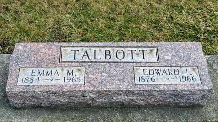 TALBOTT, EDWARD T - Richland County, Ohio   EDWARD T TALBOTT - Ohio Gravestone Photos