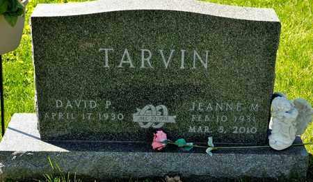 TARVIN, JEANNE M - Richland County, Ohio | JEANNE M TARVIN - Ohio Gravestone Photos